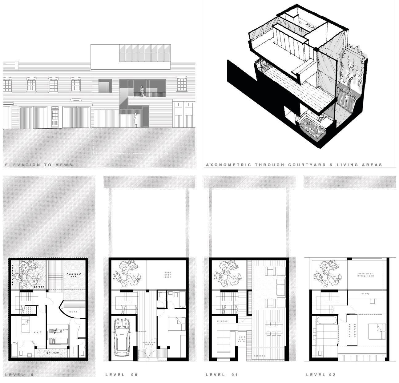 Design proposal for mews property