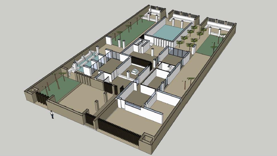 3D plan of ground floor