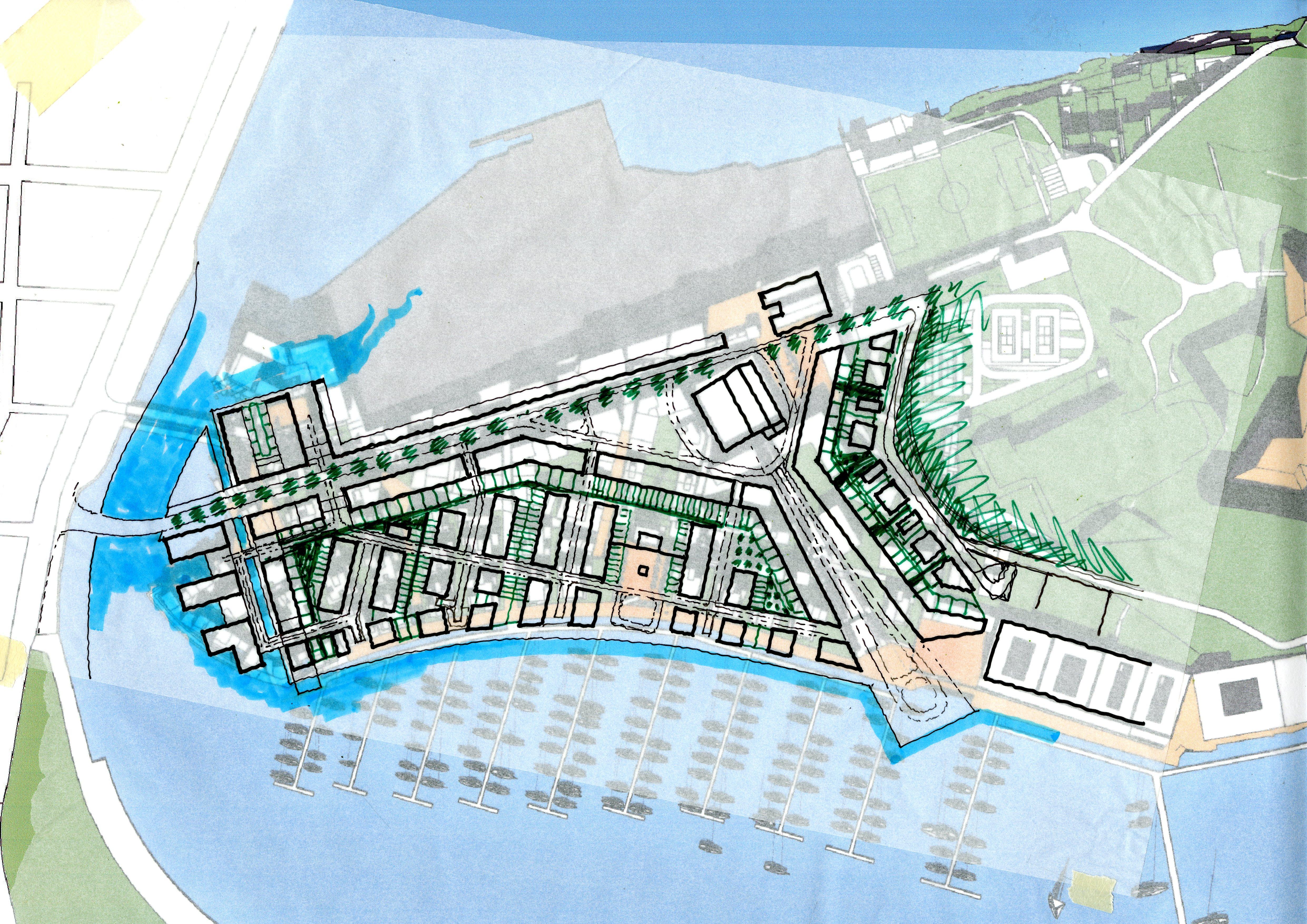 Masterplan of proposal