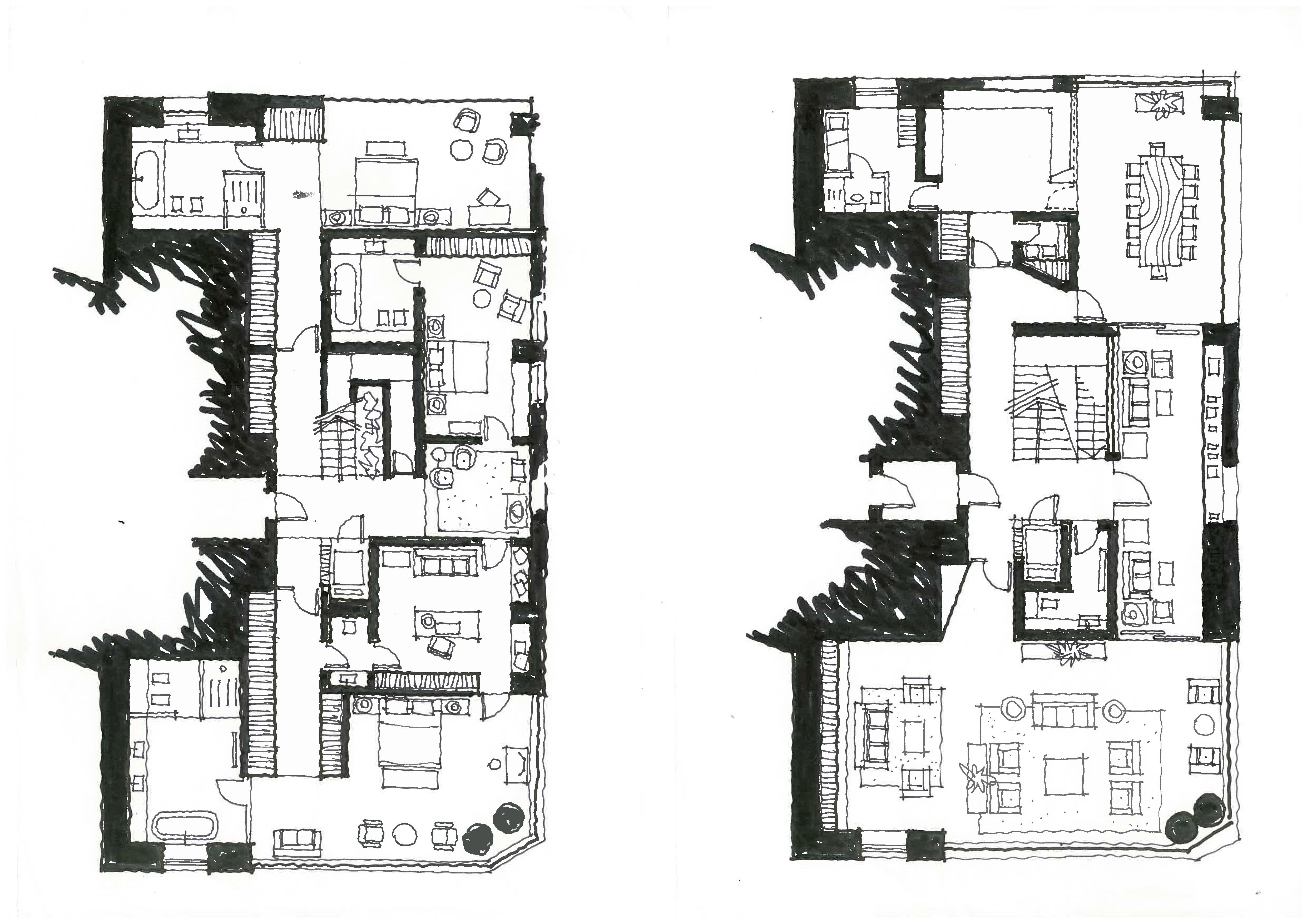Quadrupex design