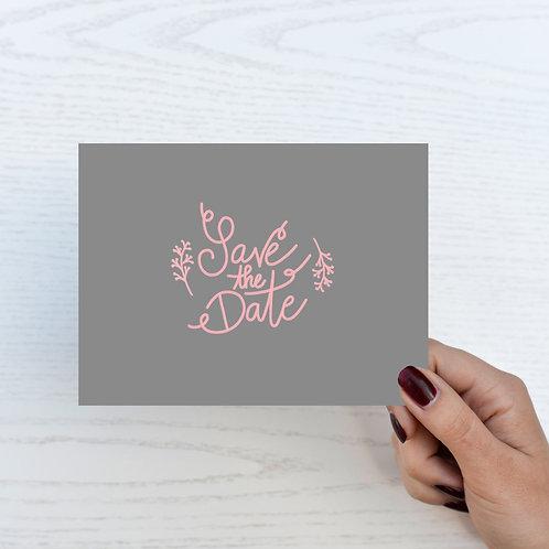 """Postkarte """"Save-the-date"""""""