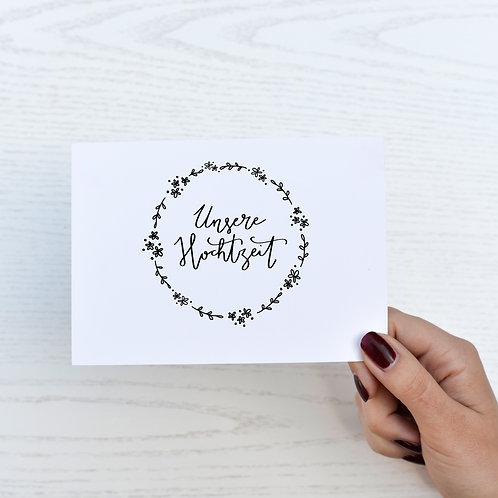 Hochzeitskarte