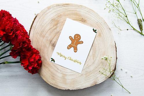 Weihnachtskarte 'Lebkuchen'