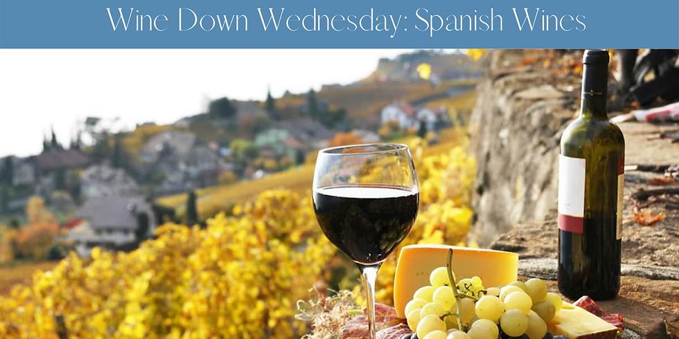 Wine Down Wednesday: Spanish Wines