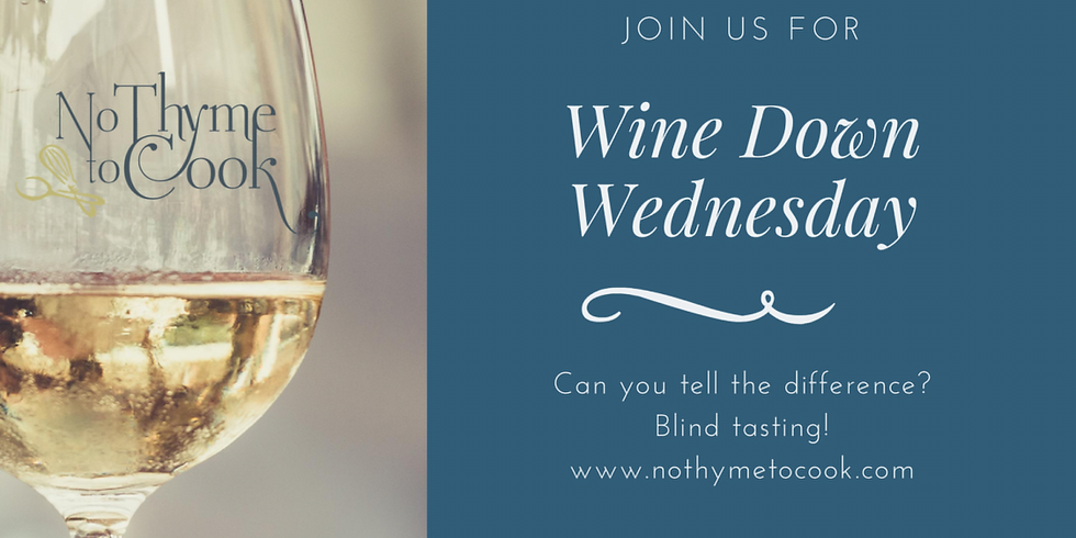ONLINE: Wine Down Wednesdays: Can You Tell the Difference?
