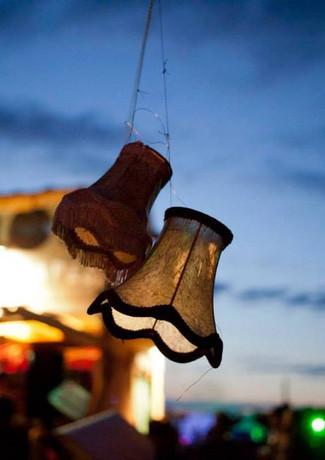 A festival by nightfall