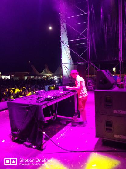 DJ-set at Iboga Summer Festival (ESP)
