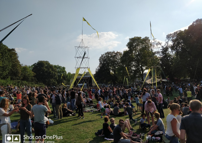 Forest Sounds festival scenography