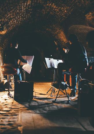 Music and poetry underground