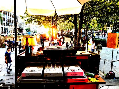 Le Triporteur DJ Set-up