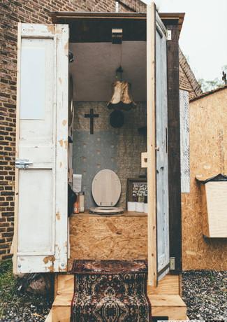 dry toilet concerpt for festivals
