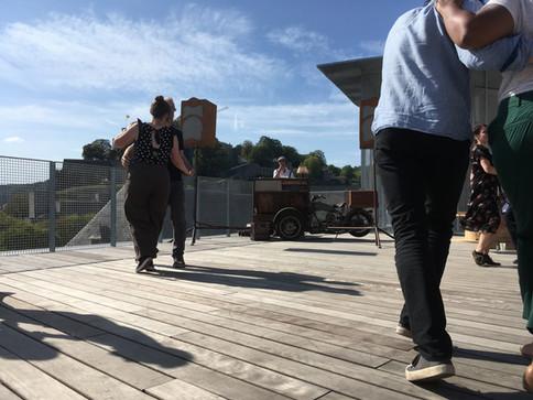 Le Triporteur with Lindy-Hop dance workshop