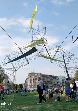 Bamboo structures for festivals