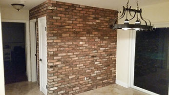 Old Chicago Brick veneer wall