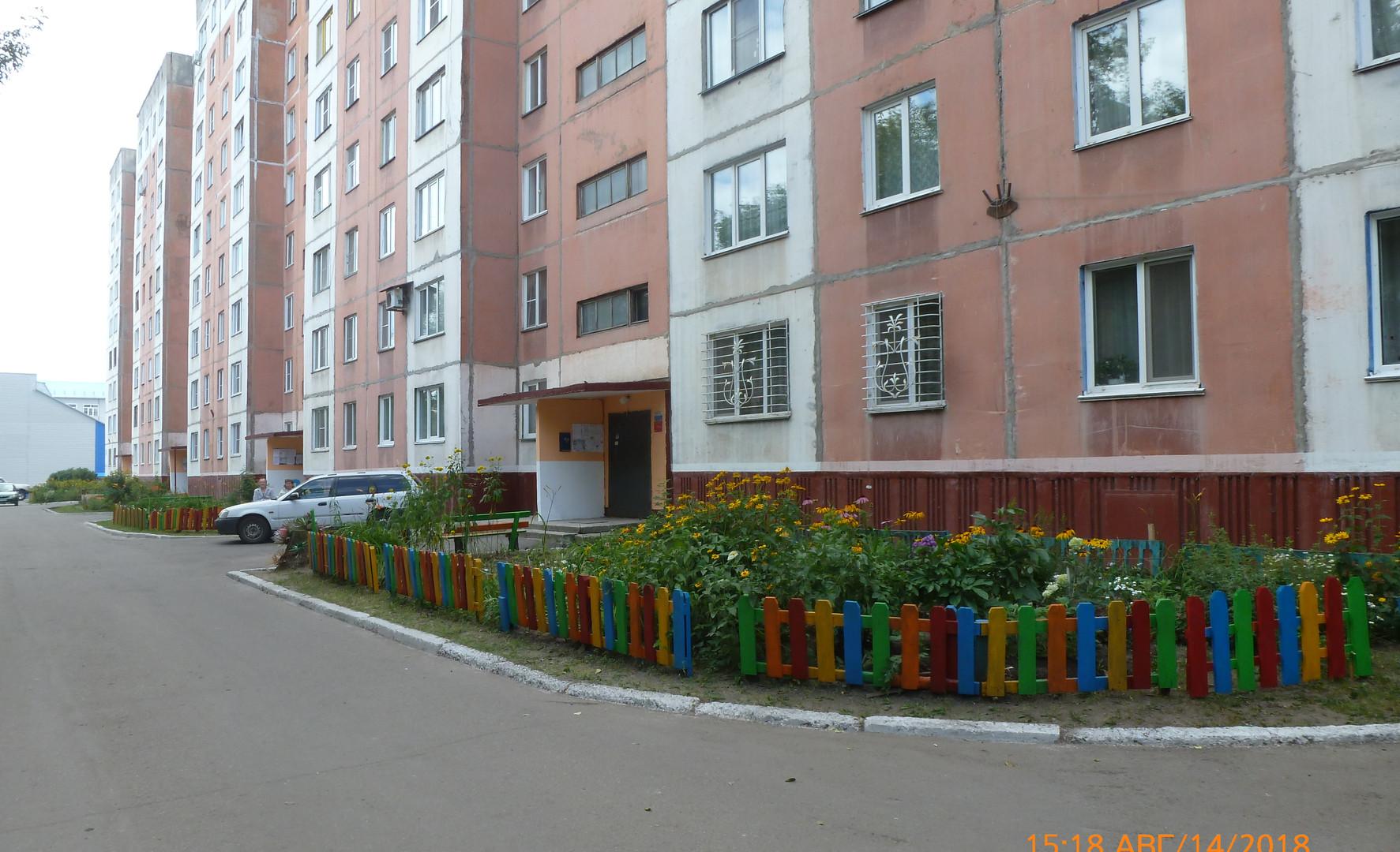 Юрина, 219 стал победителем в номинации «Лучшая придомовая территория»