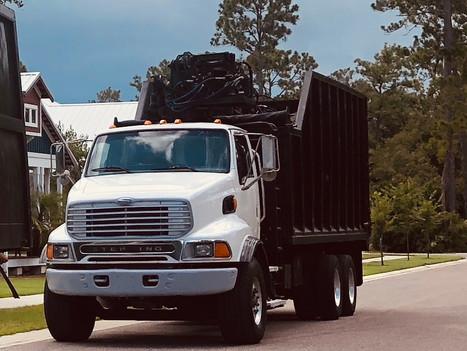 50 yard grapple truck