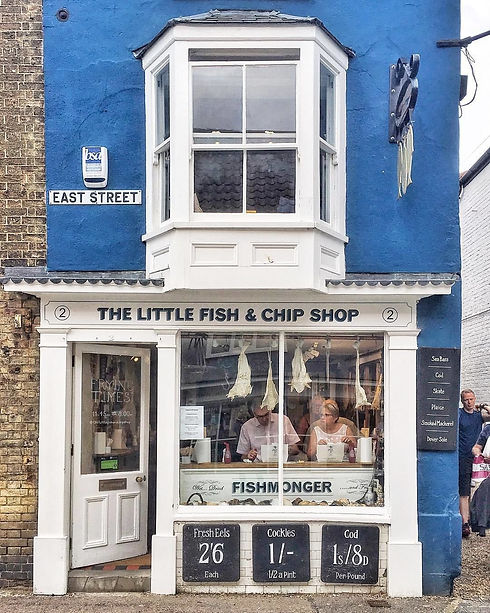 the little fish & chip shop southwold