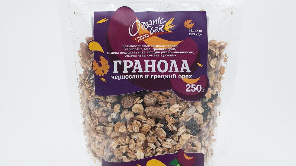 """Гранола """"Чернослив и грецкий орех"""""""