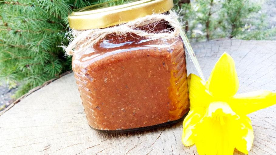Крем-мёд с какао и кокосом