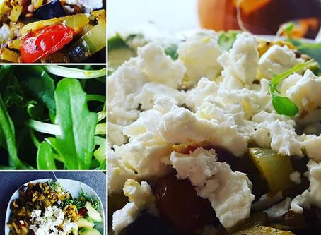 Nutritional warm salad
