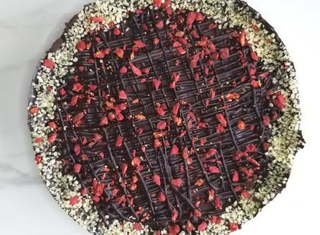 4 layer, vegan, healthy, yummy cake