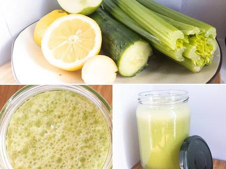 Juice in a jar.