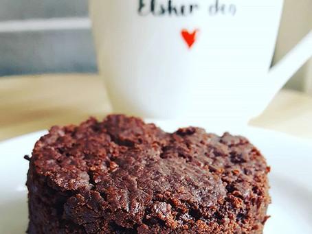 Vegan brownie - oh my gosh...!!.