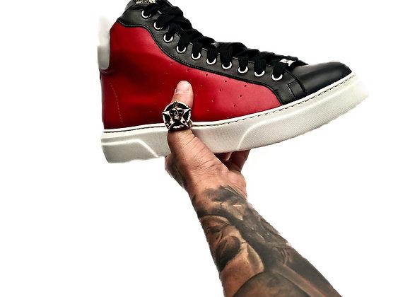 High Top Sneaker Black&Red