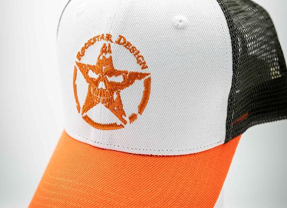Cap Orange& Green