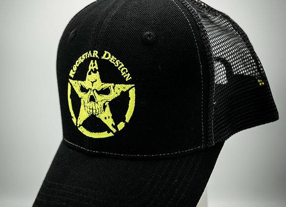 Cap Black n' Yellow