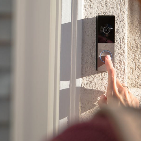 NEW CONTROL4 CHIME VIDEO DOORBELL BUILT FOR THE SMART HOME OS