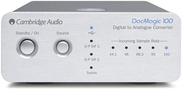 Cambridge Audio DacMagic 100 Digital to Analouge Convertors (Each)