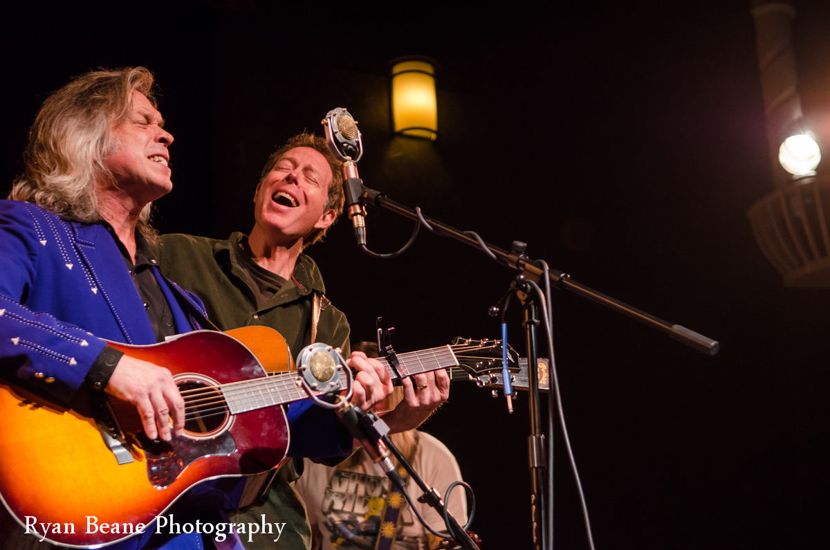 Jim Lauderdale and Nick Forster