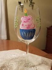 birthday cupcake wine glass.jpg