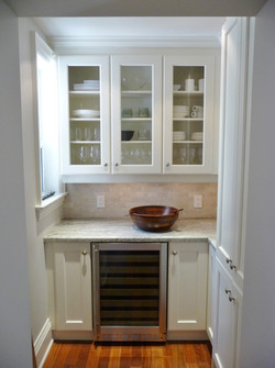 Pantry with ample storage