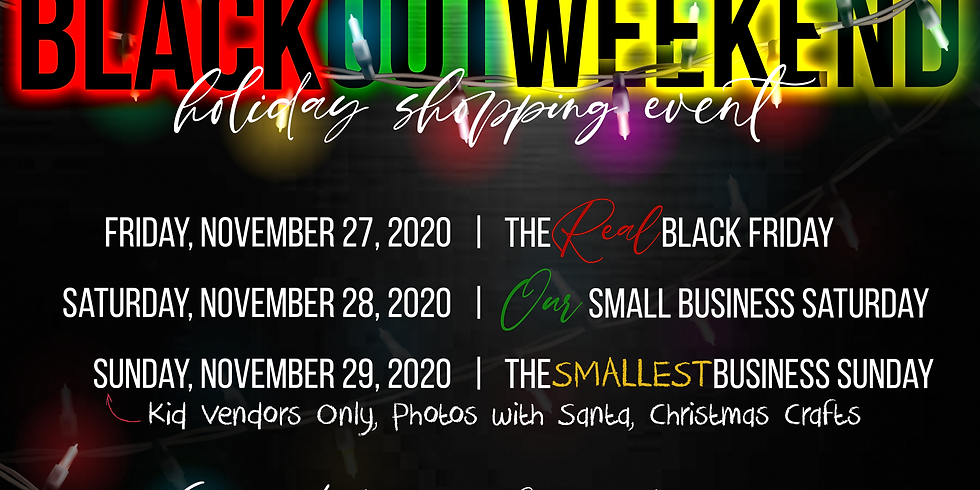 Black Out Weekend (Holiday Shopping Event)