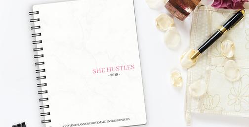 She Hustles Planner (Entrepreneurs)