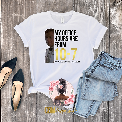 Big Red Office Hours Tee