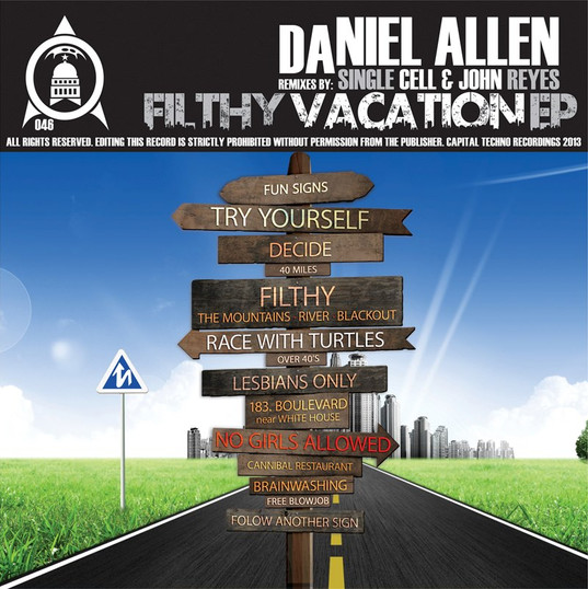 Daniel Allen-Filthy Vacation EP