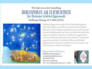 Winfried Opgenoorth Ausstellung im Kleinen Salon: