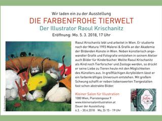 Ausstellungseröffnung Raoul Krischanitz