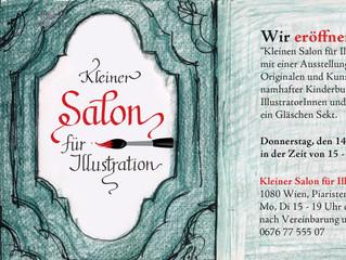 Kleiner Salon für Illustration
