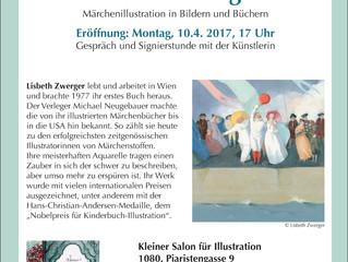 """Neue Ausstellung im Kleinen Salon für Illustration """"Lisbeth Zwerger"""""""