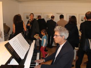Die Eröffnung von Lisbeth Zwergers Ausstellung