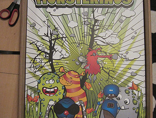 Endlich: die Poster der Monsterinos sind gedruckt!