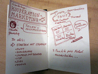Workshop 'Fusion Marketing & Marketingkooperationen: Teilen = Multiplizieren?'  im Forum