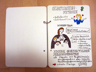 Graphic Recording im Mini-Format über Selbstcoaching
