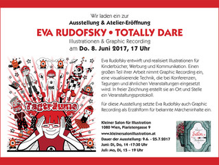 Ausstellung: Eva Rudofsky, TOTALLY DARE