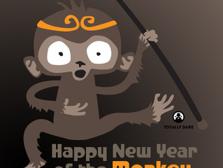 Happy New Year of the Monkey!