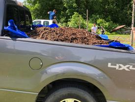 DPNC Coogan Farm Donates Wood Mulch!
